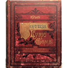 Kyle's Scottish Lyric Gems Vintage Piano Vocal Book from 1880