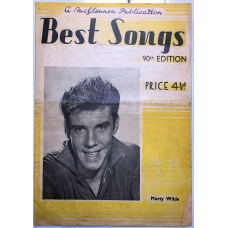 Best Songs 90th Edition Featuring Marty Wilde on Cover