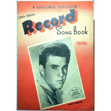 Record Song Album 234th Edition Featuring Ricky Nelson on Cover