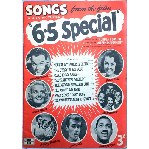 Songs & Pictures From The Film 6.5 Six Five Special Magazine