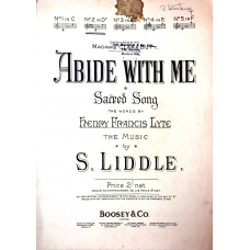 Abide With Me by Henry Francis Lyte and Samuel Liddle