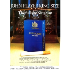 John Player King Size Cigarettes  1978 Vintage Magazine Advert