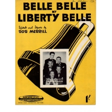 Belle Belle My Liberty Belle by The Stargazers 1950s Vintage Sheet Music